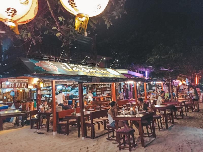 Jasmine's Restaurant PhiPhi